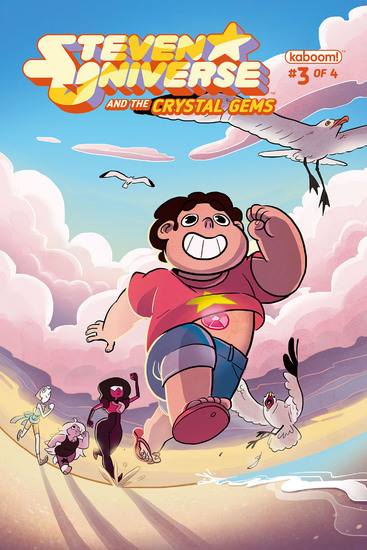 Steven Universe and The Crystal Gems #3 - cover