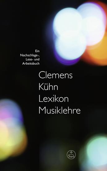 Lexikon Musiklehre - Ein Nachschlage- Lese- und Arbeitsbuch - cover