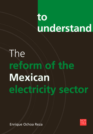 The reform of the Mexican electricity sector - cover