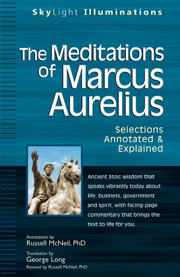 The Meditations of Marcus Auerlius - Selections Annotated & Explained - cover