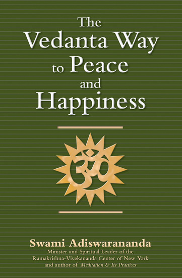 The Vedanta Way to Peace and Happiness - cover