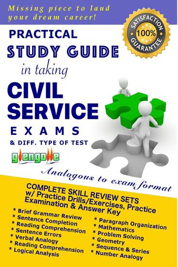 Practical Study Guide In Taking Civil Service Exam And