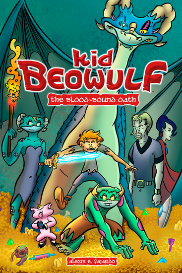 Kid Beowulf: The Blood-Bound Oath - cover
