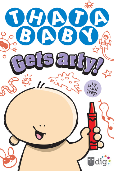Thatababy Gets Arty! - cover