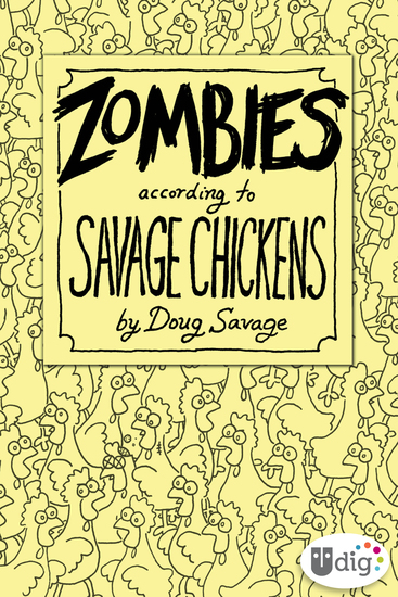 Zombies According to Savage Chickens - cover