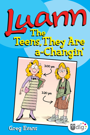 Luann: The Teens They Are a-Changin' - cover