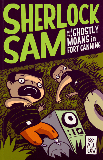 Sherlock Sam and the Ghostly Moans in Fort Canning - book two - cover