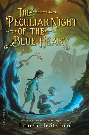 The Peculiar Night of the Blue Heart - cover
