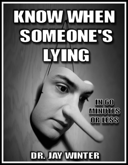 Know When Someone's Lying In 60 Minutes or Less - cover