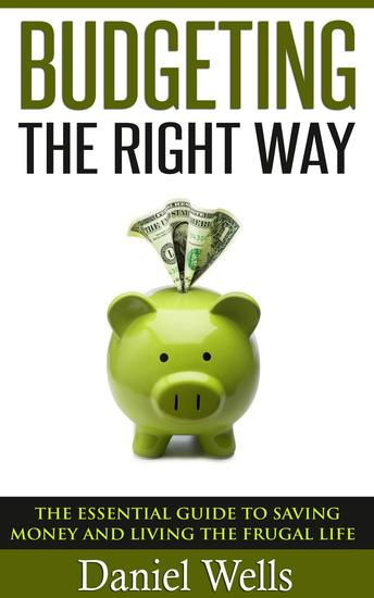 Budgeting - The Right Way - cover