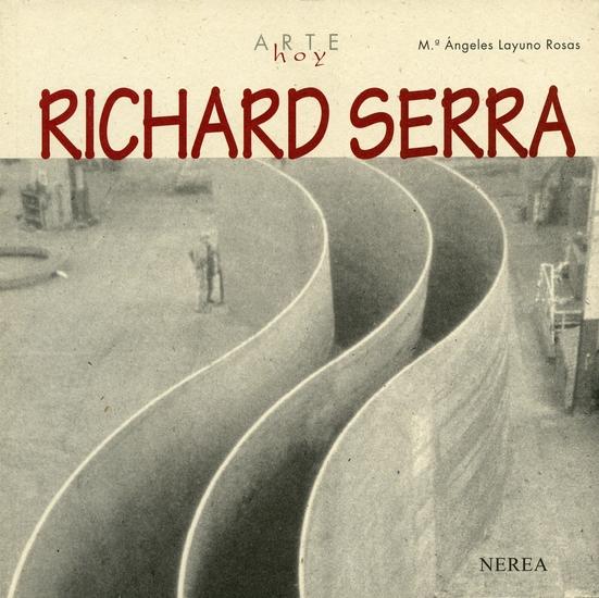 Richard Serra - cover