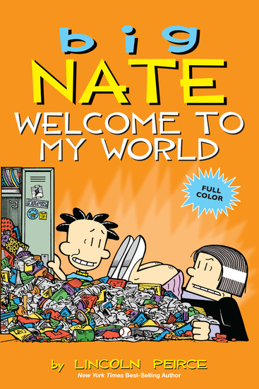 Big Nate: Welcome to My World - cover