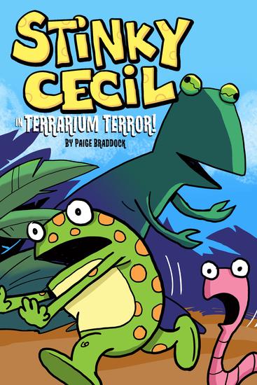 Stinky Cecil in Terrarium Terror - cover
