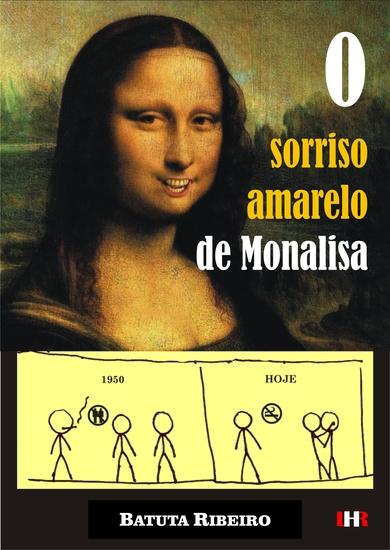O sorriso amarelo de Monalisa - cover