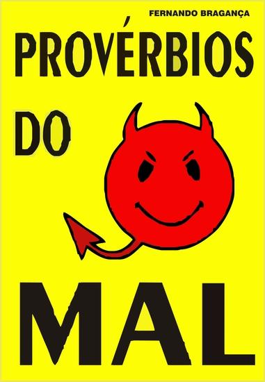 Provérbios do mal - cover