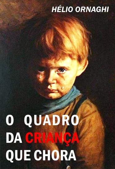 O quadro da criança que chora - cover