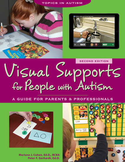 Visual Supports for People with Autism - A Guide for Parents and Professionals - cover