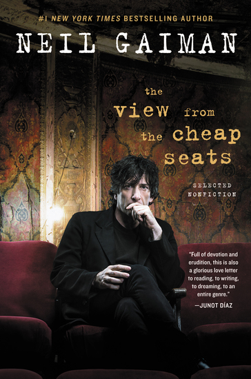 The View from the Cheap Seats - Selected Nonfiction - cover