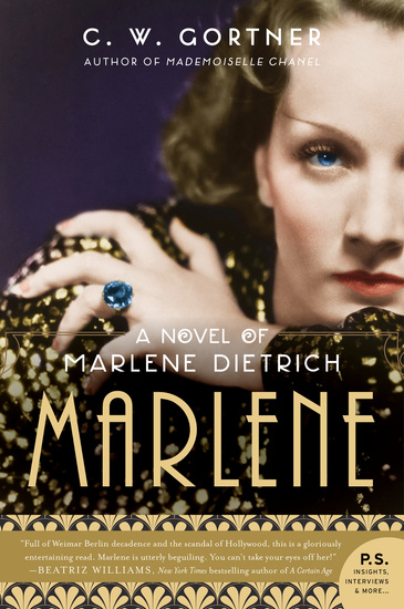 Marlene - A Novel - cover