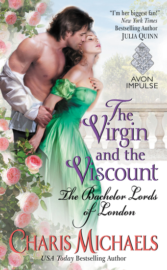 The Virgin and the Viscount - The Bachelor Lords of London - cover