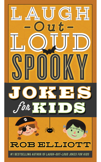 Laugh-Out-Loud Spooky Jokes for Kids - cover