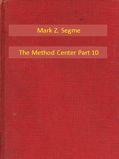 The Method Center Part 10 - cover