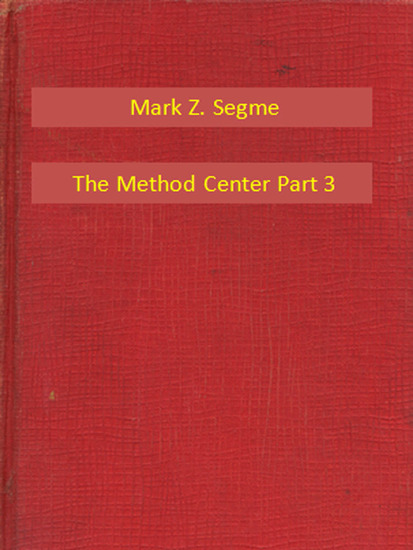 The Method Center Part 3 - cover