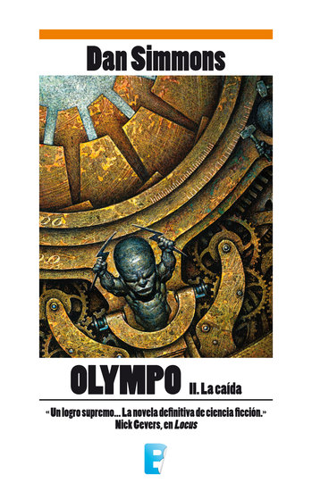 Olympo II La caída - cover