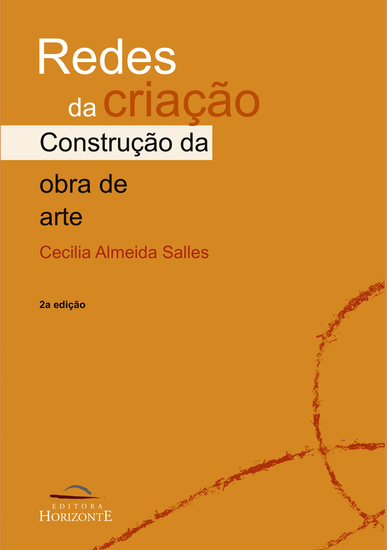 Redes da criação - a construção da obra de arte - cover
