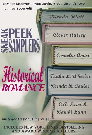 Sneak Peek Samplers: Historical Romance - cover
