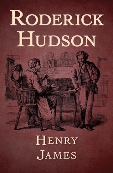 Roderick Hudson - cover