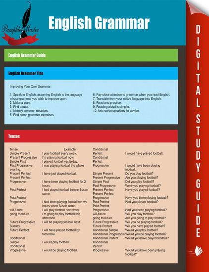 English Grammar - English Grammar Guide - cover