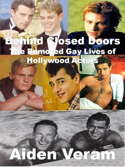 The Rumored Gay Lives of Hollywood Actors - cover