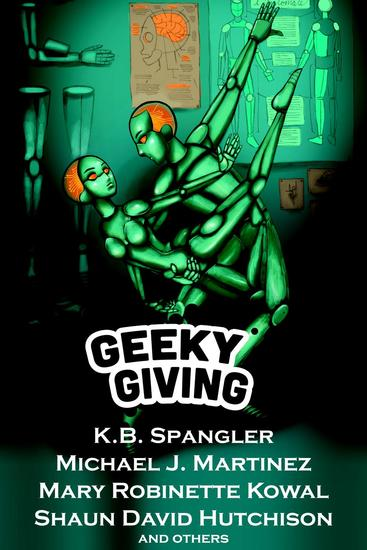 Geeky Giving: A SFF Charity Anthology - cover