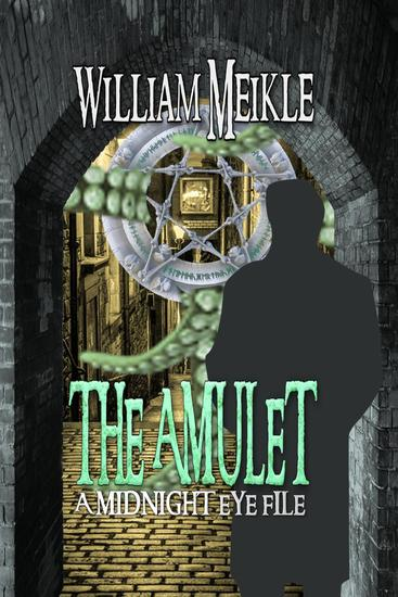 The Amulet - The Midnight Eye Files #1 - cover