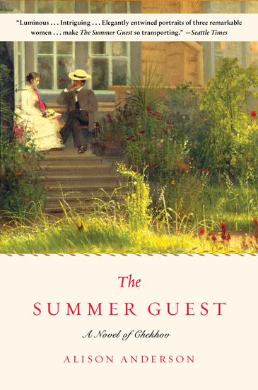 The Summer Guest - A Novel - cover