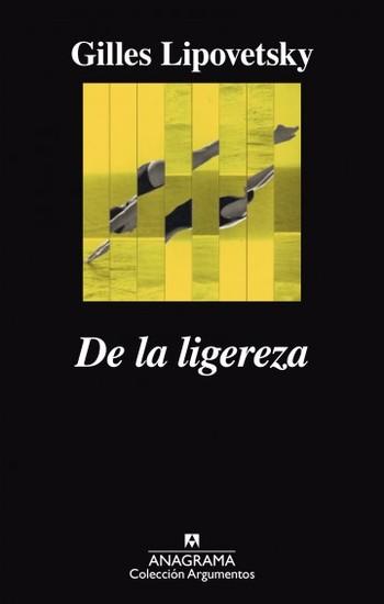 De la ligereza - cover