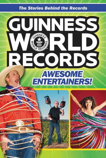 Guinness World Records: Awesome Entertainers! - cover