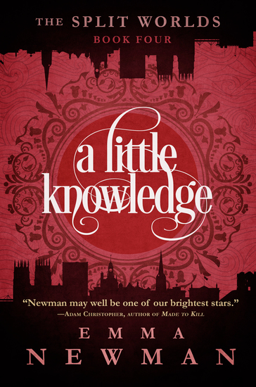 A Little Knowledge - The Split Worlds - Book Four - cover
