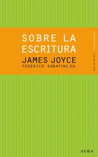 James Joyce Sobre la escritura - cover