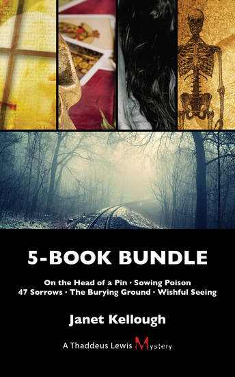 Thaddeus Lewis Mysteries 5-Book Bundle - On the Head of a Pin Sowing Poison 47 Sorrows The Burying Ground Wishful Seeing - cover