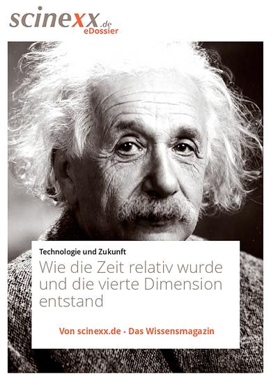 Albert Einstein - Wie die Zeit relativ wurde und die vierte Dimension entstand - cover