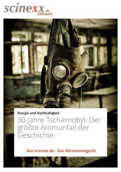 30 Jahre Tschernobyl - Der größte Atomunfall der Geschichte eine Ruine und die Folgen - cover