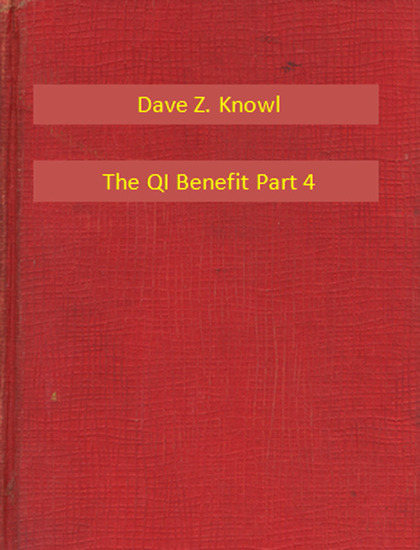 The QI Benefit Part 4 - cover