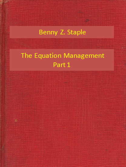 The Equation Management Part 1 - cover