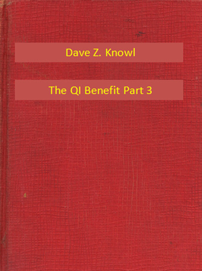 The QI Benefit Part 3 - cover