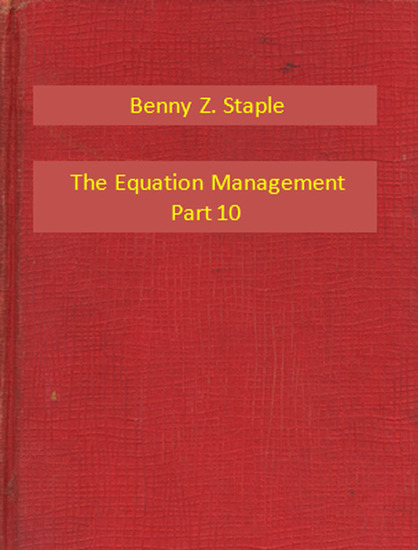 The Equation Management Part 10 - cover
