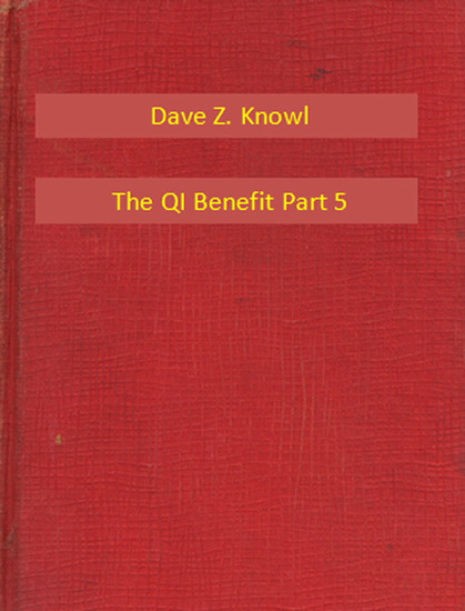 The QI Benefit Part 5 - cover