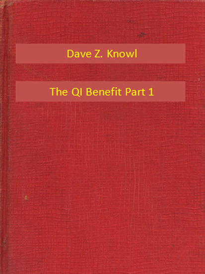 The QI Benefit Part 1 - cover
