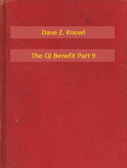 The QI Benefit Part 9 - cover